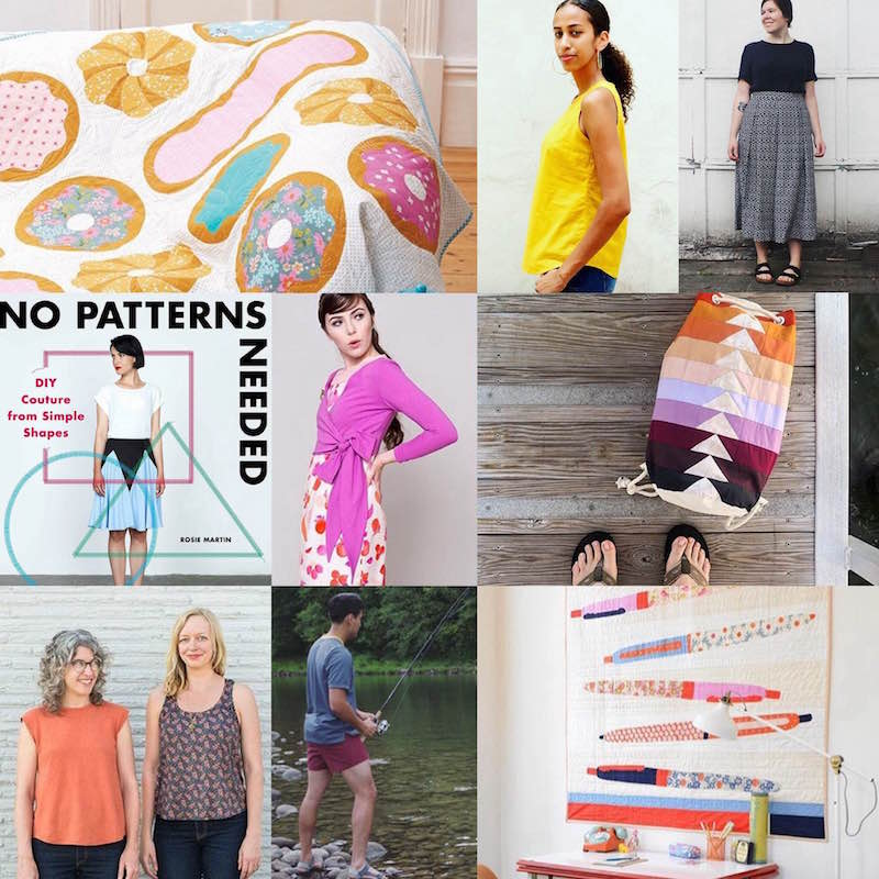 News from the Sewiverse Summer 2016 - sewing patterns, news, and events